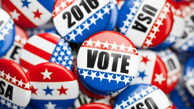 2016 vote buttons
