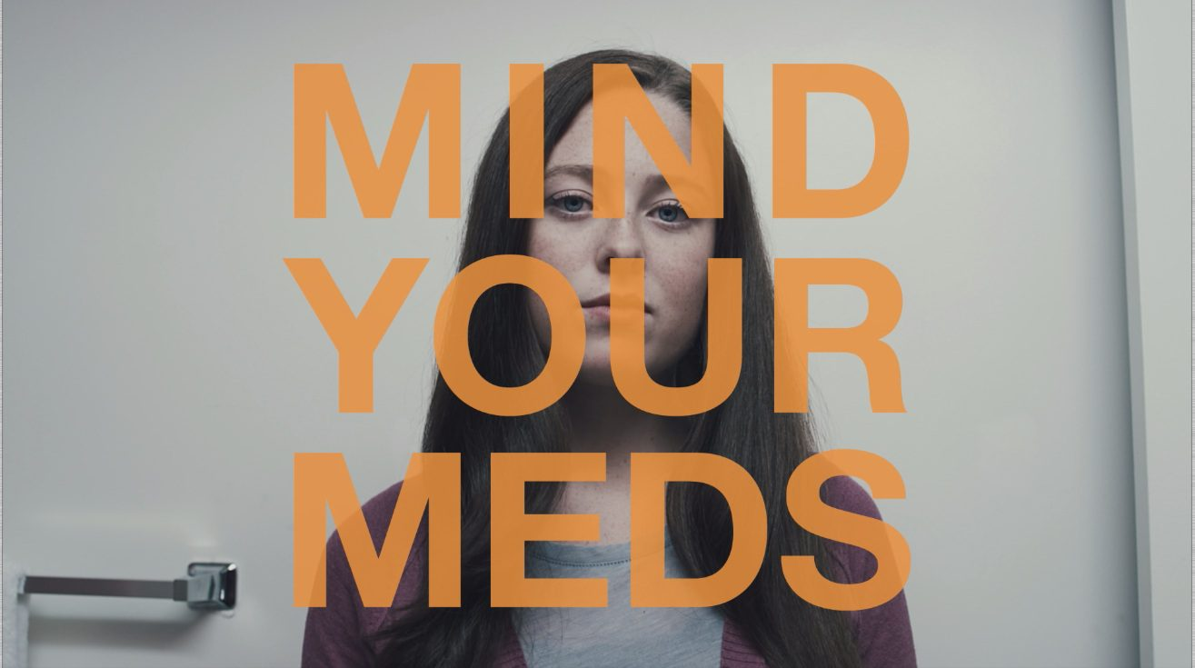 Mind Your Meds - girl