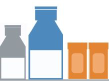 medicine bottles graphic