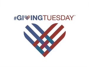 #GivingTuesday heart logo