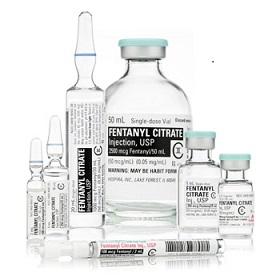 fentanyl bottles and vials