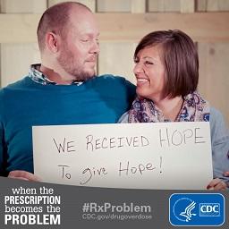CDC prescription overdose campaign couple