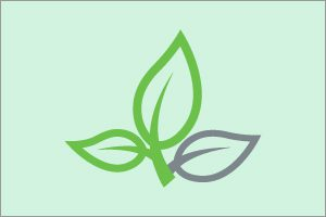 plant with three leaves clip art