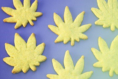 marijuana shaped cookies 6-9-15
