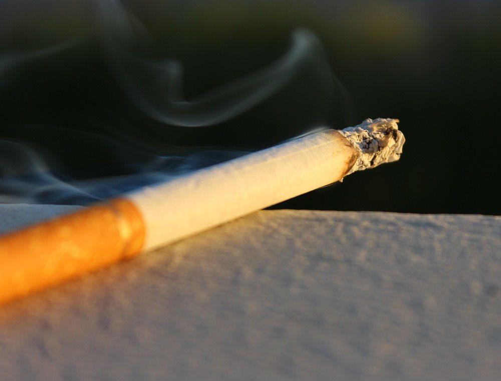 nicotine cigarette