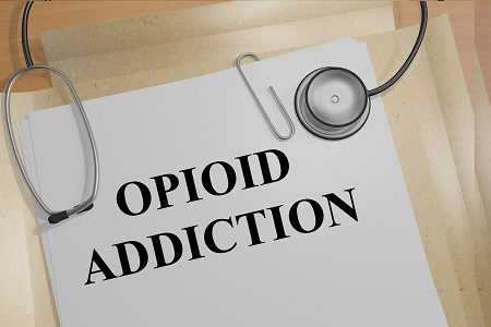 opioid addiction, stethoscope