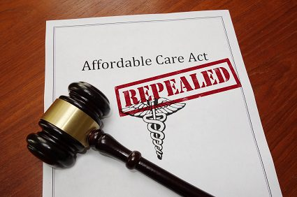 ACA Affordable Care Act repeal gavel