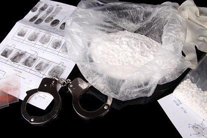drugs, handcuffs, arrest, police, powder