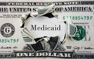 Medicaid dollar money