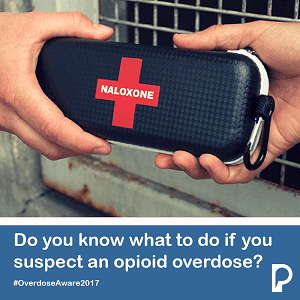 Naloxone - Overdose Awareness Day 2017