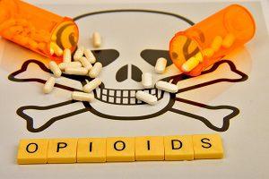 opioids pills skull and bones