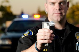 Breathalyzer drunk driving police