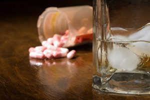 pills and alcohol