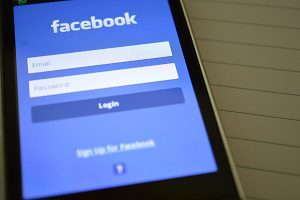 facebook login internet