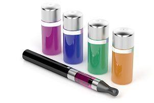 e-cigarette and e-liquid vaping